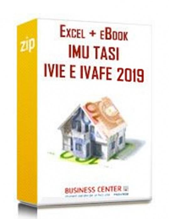 IMU e TASI - IVIE e IVAFE 2019 (2 eBook + excel)
