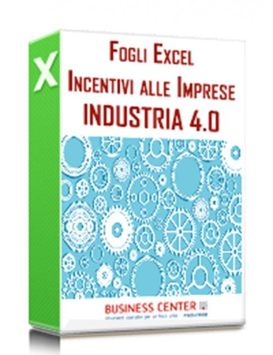 Industria 4.0 - Pacchetto excel