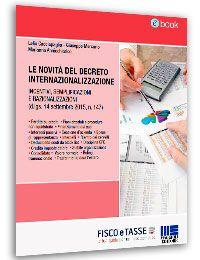 Le novità del Decreto Internazionalizzazione (eBook)