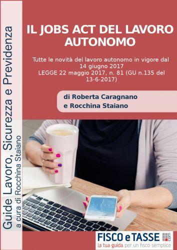 Il Jobs Act del lavoro autonomo (eBook 2017)