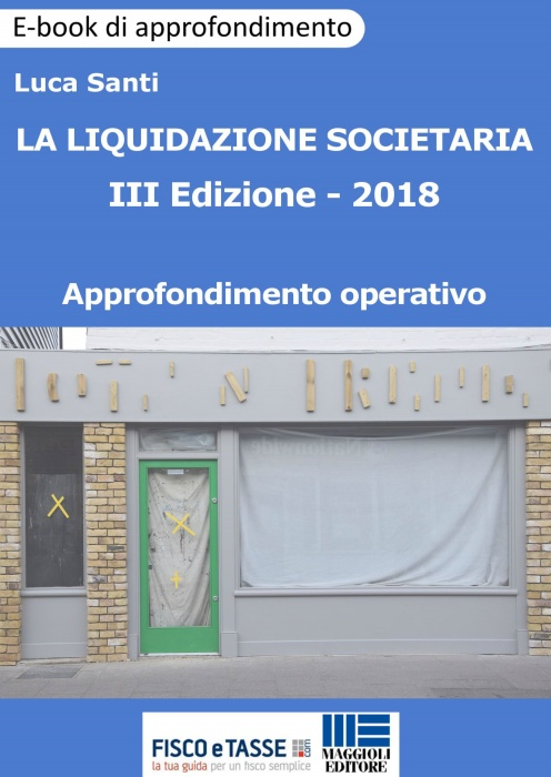 La liquidazione societaria (eBook 2018)