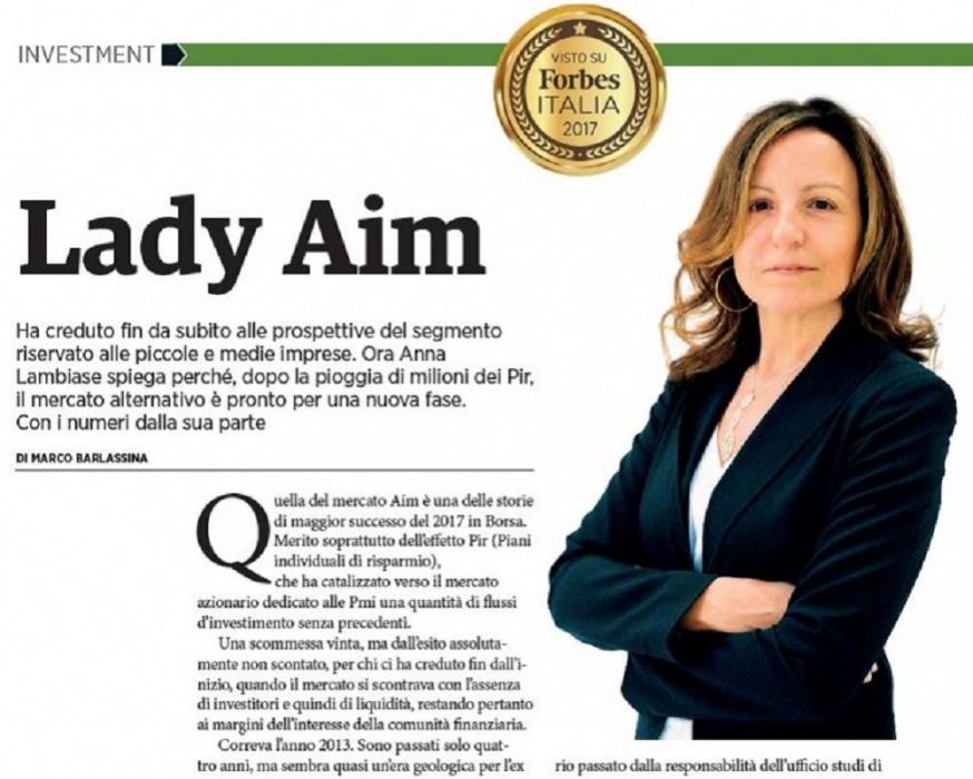 AIM Italia: il mercato azionario per le PMI
