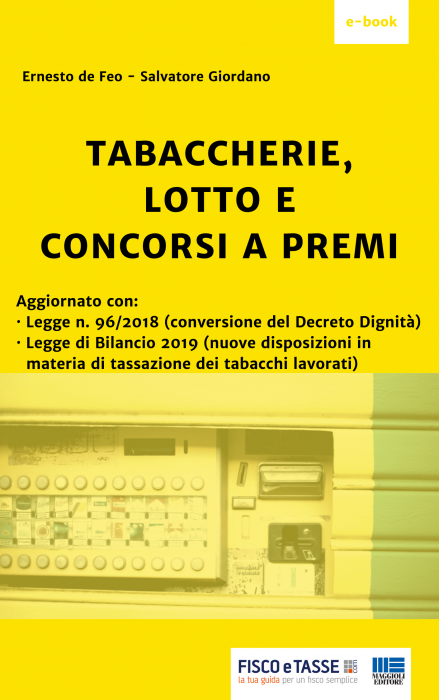 Tabaccherie, lotto e concorsi a premi (eBook 2019)