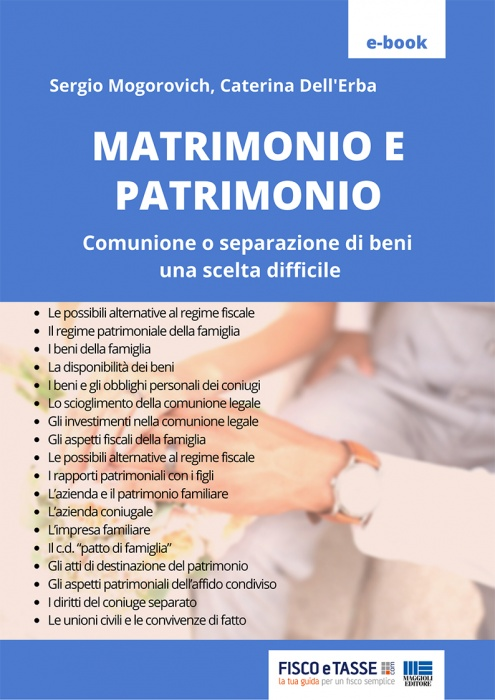 Matrimonio e Patrimonio (eBook 2020)
