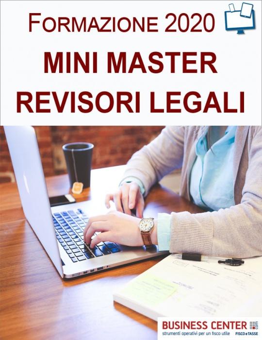Mini Master Revisori Legali 2020
