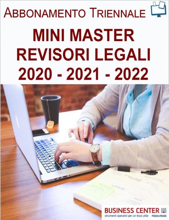 Mini Master Revisori Legali - Abbonamento Triennale