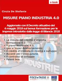 Misure Piano Industria 4.0 (eBook 2018)