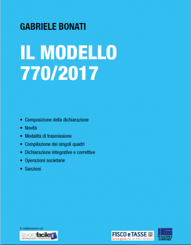 Il Modello 770/2017 (eBook) - Guida alla compilazione
