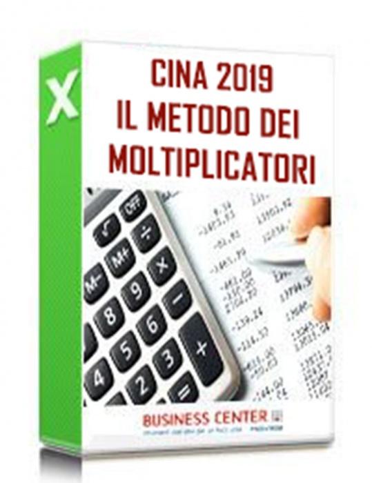 Il Metodo dei Multipli 2019 - CINA