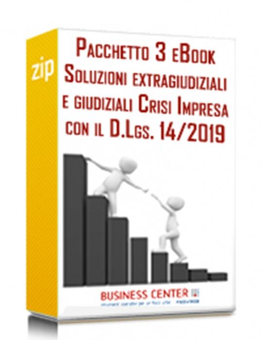 Crisi d'impresa e possibili soluzioni (Pacchetto eBook)