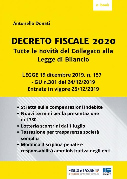 Decreto Fiscale 2020 (eBook 2020)