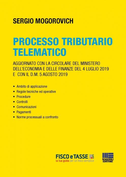 Processo tributario telematico (eBook 2019)