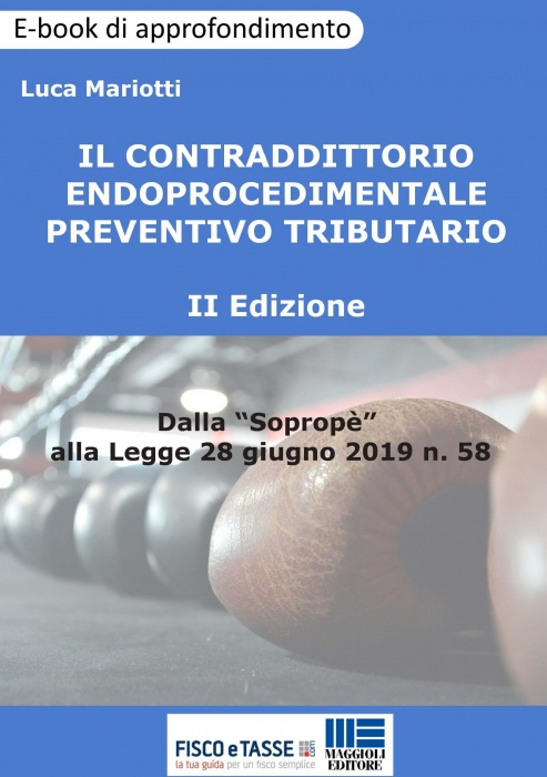 Contraddittorio endoprocedimentale preventivo (eBook)