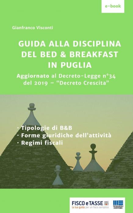 Guida alla disciplina del Bed & Breakfast in Puglia