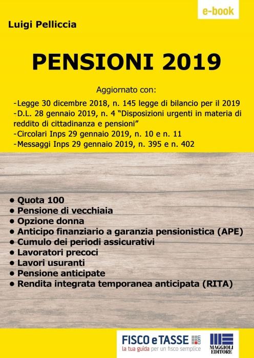 Pensioni 2019 (eBook)