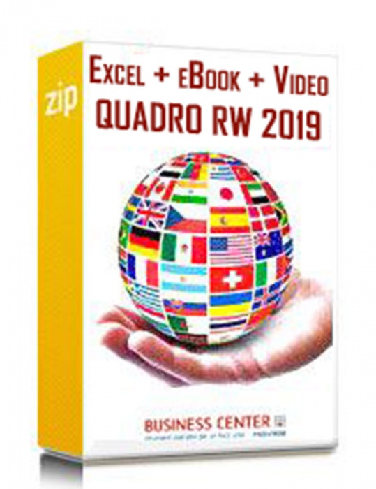 Quadro RW 2019 (eBook + excel + Videocorso accreditato)