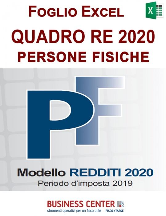 Quadro RE 2020 (Excel)