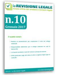 La Revisione Legale - n. 10/2016