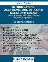 La revisione dei conti degli Enti locali (eBook 2018)