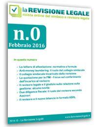 La Revisione Legale - n. 0/2016
