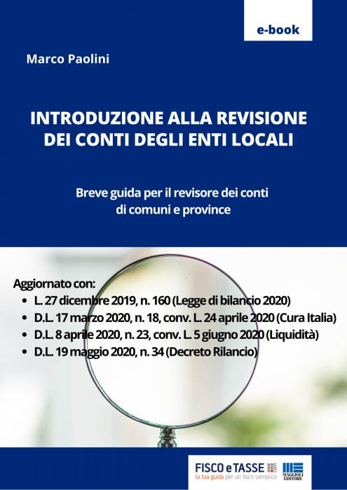 La revisione dei conti degli Enti locali (eBook 2020)