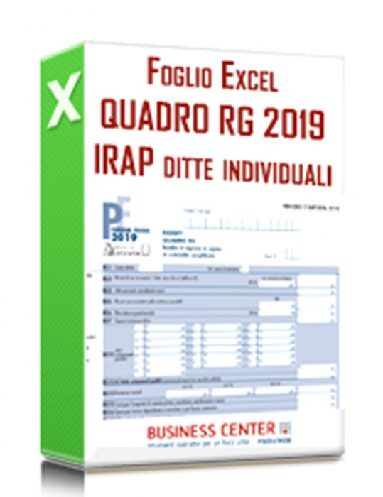 Quadro RG e Irap 2019 ditte individuali in semplificata
