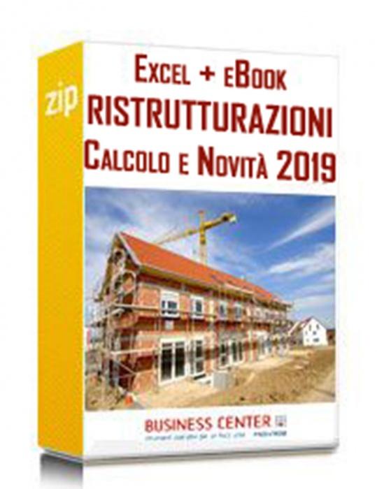Ristrutturazioni e risparmio energetico (eBook + excel)