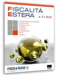 Fiscalità Estera - n. 1/2016
