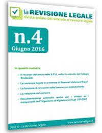 La Revisione Legale - n. 4/2016