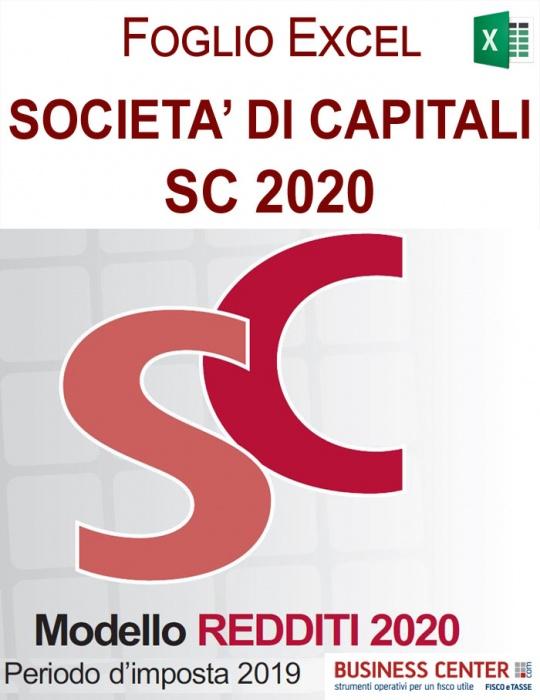 Calcolo IRES e IRAP 2020 - Redditi Società di Capitali