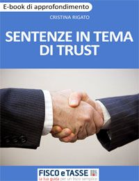 Sentenze in tema di Trust (eBook)