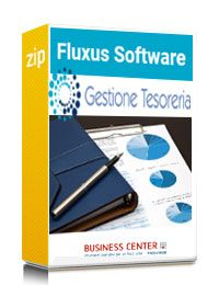 Fluxus Software Gestione di Tesoreria - Licenza 1 MESE