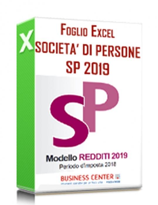 Calcolo Redditi e Irap 2019 Società di Persone (Excel)