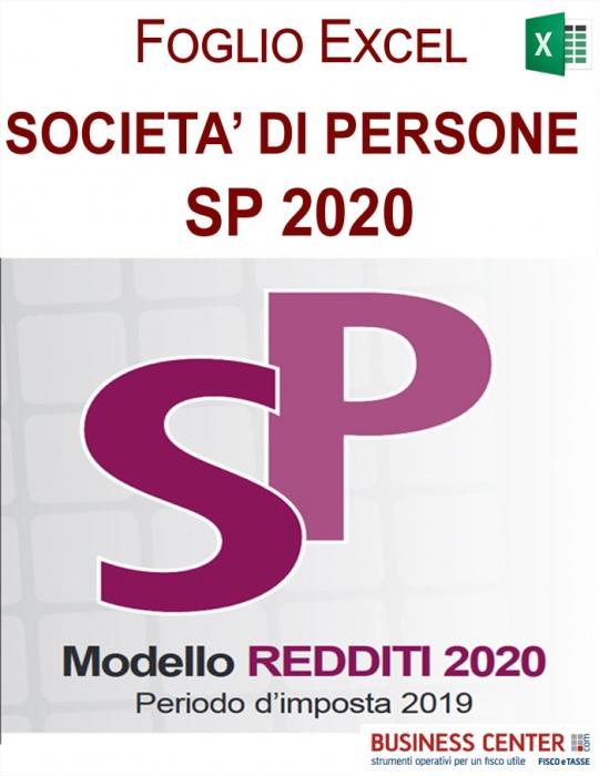 Calcolo Redditi e Irap 2020 Società di Persone (Excel)