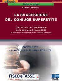 La successione del coniuge superstite (eBook 2017)