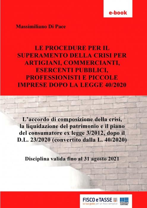 Procedure di superamento crisi imprese e professionisti
