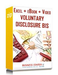 La Voluntary Disclosure Bis (eBook + excel + Video)