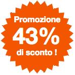 Promo 43%