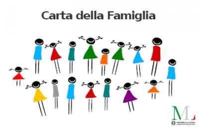 Carta Famiglia 2019 solo per i cittadini UE