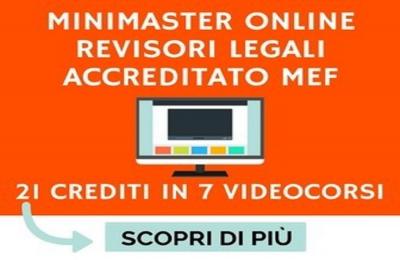 Domani 12 maggio webinar dedicato al Bilancio accreditato MEF  Revisori legali