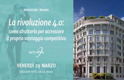 Il nuovo ruolo del CFO nella Digital Transformation. A Milano il 29 Marzo