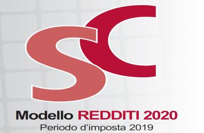 Modello dichiarazione Redditi 2020 Società di Capitali