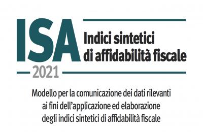 ISA 2021: pubblicati i 175 modelli per la comunicazione dei dati