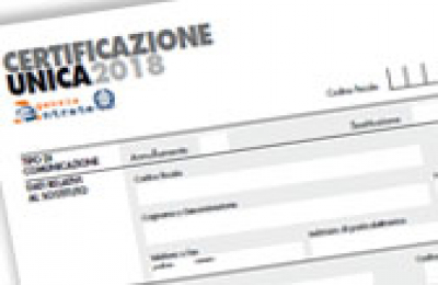 Certificazione Unica 2018: oggi ultimo giorno per l'invio. Le sanzioni previste