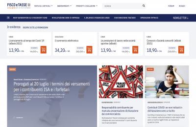 FISCOeTASSE.com si rinnova: online la nuova grafica del portale