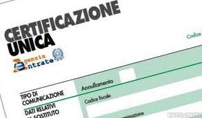 Certificazione Unica 2019: scadenza e novita' del modello