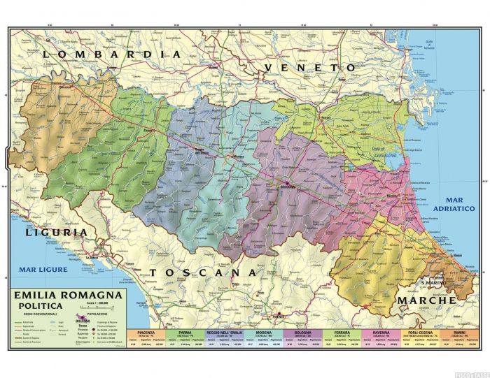 Cartina Politica Emilia Romagna Dettagliata.Concorso Emilia Romagna 447 Assunzioni Tutti I Dettagli