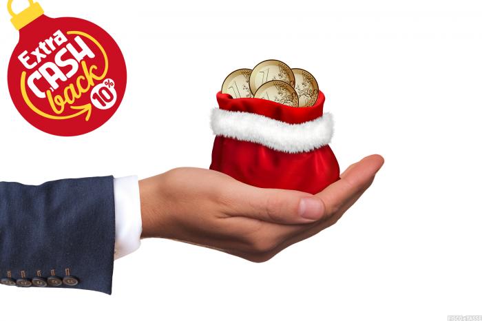 Extra Cashback di Natale: come fare per ottenerlo e un esempio di calcolo