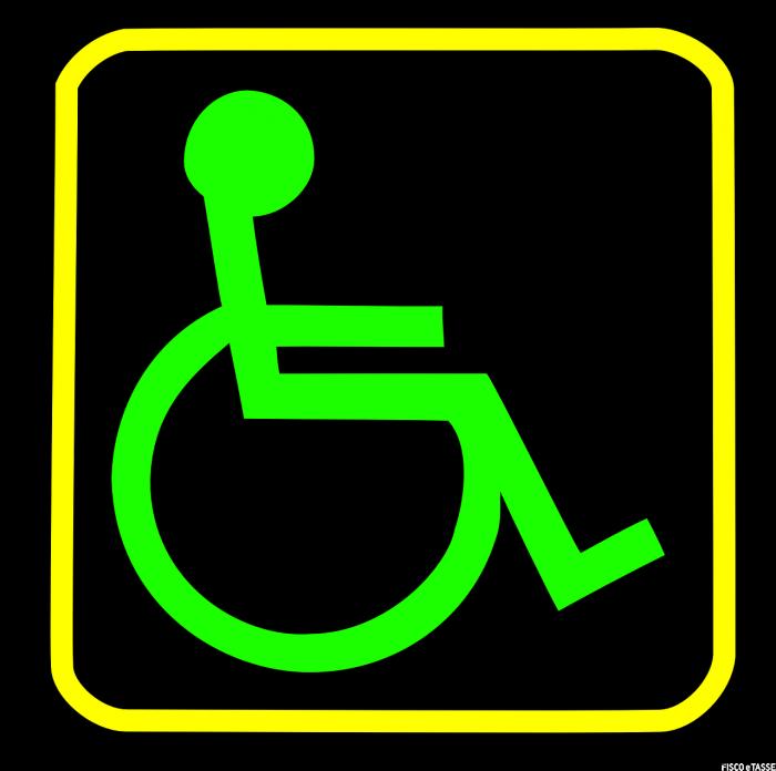 Vetture per disabili non fiscalmente a carico: nessuna agevolazione