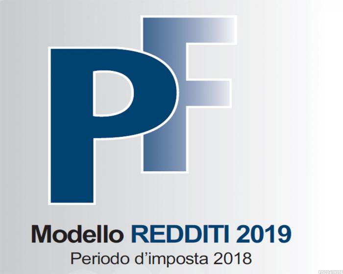 modello PF 2019 modifiche